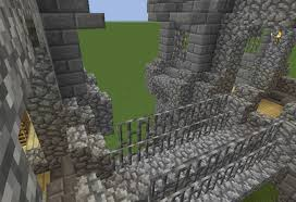 Simple Medieval Castle Wall Gate GrabCraft Your number one