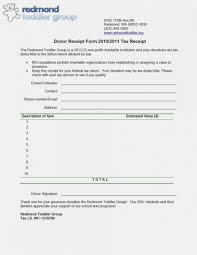 Receipt Builder Goodwill Tax Form Valuation Donation Receipt Record Exempt