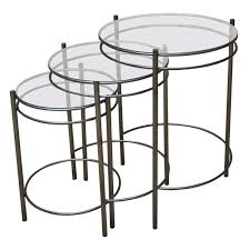 coffee table dark pine nest of tables small round metal side table nest of glass