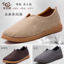 USD 37.59] Worry-free tree flax breathable monk shoes Zen shoes casual  shoes men's and women's spring, summer and autumn monk shoes Rohan shoes -  Wholesale from China online shopping | Buy asian