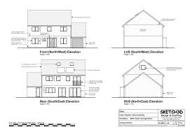 example self build passive house plans external elevations