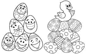 Fun Easter Colouring Pages For Kids