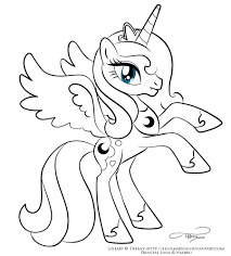 revisited princess luna my little pony coloring page 01 inside glum me in best pages filly