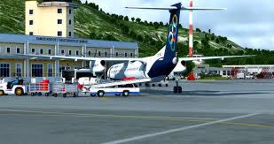First Flight To Samos The Landing Was Interesting Flightsim