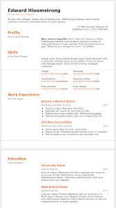 Cv Template Google Docs Resume Templates Free Formats To