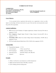 B Pharm Fresher Resume Objective For Freshers Mechanical Engineers