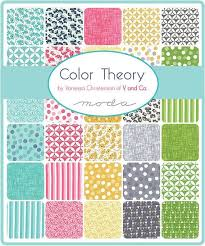 16 best Pre-Cut Fabrics images on Pinterest | Uk today, Charm pack ... & Moda Fabric Colour Theory Jelly Roll from £28.50 - www.modafabric.co. Adamdwight.com
