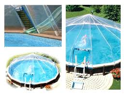 Above Ground Swimming Pool Enclosures Pool Dome Cover Swimming Pool