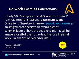 Exams and Coursework University of Bath Blogs