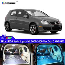 Mk5 Jetta Led Interior Lights Kammuri 9x Free Shipping Error Free White Interior Led Light