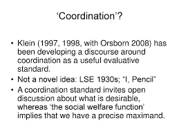 Israel Kirzner on Coordination and Discovery - ppt download