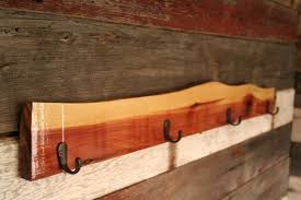 Cedar Coat Rack Classy Rustic 32 Hook Cedar Coat Rack By BrashersWoodDesigns On Etsy Cedar