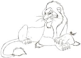 Scar Lion King Drawing At Getdrawingscom Free For Personal Use