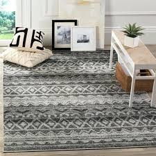 modern ivory charcoal grey rug gray runner