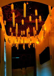 candle light ceiling