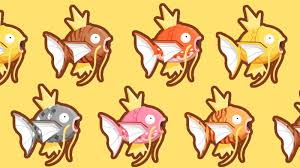 All Magikarp Patterns Awesome Magikarp Jump How To Get Each Magikarp Pattern And Color Type