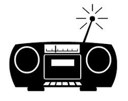 radio clipart black and white. radio.jpg. right click to save / download clipart image radio black and white i
