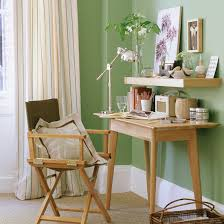 Green office Orange Soft Green Office Colourful Home Offices 10 Of The Best Ideal Home