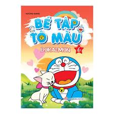Bé Tập Tô Màu Doraemon - Tập 6 | nhanvan.vn – Siêu Thị Sách Nhân Văn