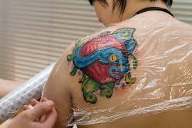рекомендации по уходу за татуировкой Hirurg тату арт студия