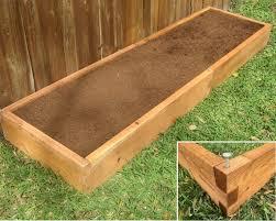 2x8 raised garden bed planter 3 heights