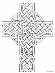 Cross Easter Coloring Pages New Free Printable Cross Coloring Pages