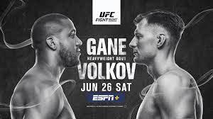 Uitslagen : UFC Fight Night 190 Las ...