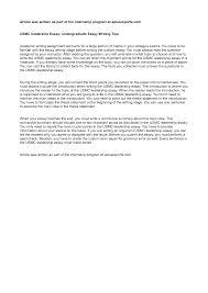 what is leadership essay  leadership essay examples  native    what is leadership essay
