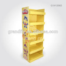 Display Stands For Pictures Amazing 32 Tier Corrugated Cardboard Floor Display Stands For Playdoh