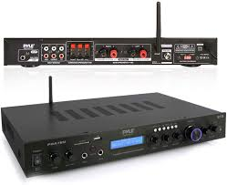 Home Tv System Design Pyle 5 Channel Rack Mount Bluetooth Receiver Home Theater Amp Speaker Amplifier Bluetooth Wireless Streaming Mp3 Usb Sd Aux Fm Radio 200 Watt