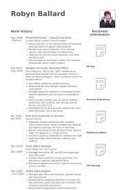 Paraprofessional Resume Suiteblounge Com