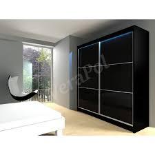 sliding door bedroom furniture. full lacobel glass wardrobe sliding door bedroom furniture mrvi200 led included