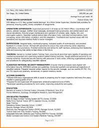 Military Resume 100 military to civilian resume gunitrecors 40