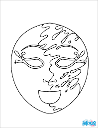 Masquerade Coloring Pages At Getdrawingscom Free For Personal Use