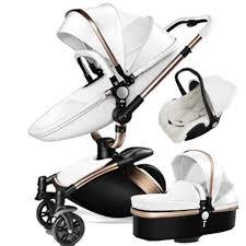 baby stroller 2017 hot mom travel system 3 in 1 bassinet luxurious leather pram for