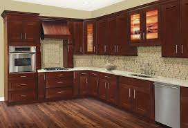 Cherry Hill Shaker Kitchen Cabinets Solid Wood Cabinets