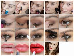excellent makeup art step by steps