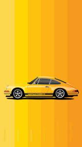 Porsche Super Car iPhone Yellow HD ...