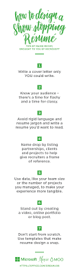 Microsoft Resume How To Design A Showstopping Resume Office Blogs 41