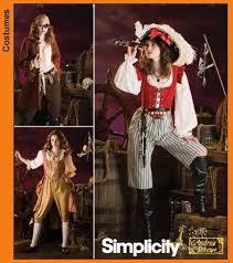 Pirate Costume Pattern Simple Simplicity 48