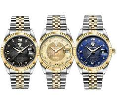 <b>TEVISE Luxury</b> Waterproof Semi-automatic Mechanical Men ...
