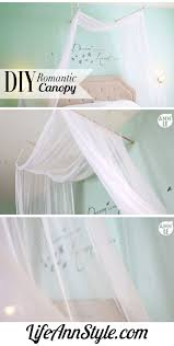 Bed Canopy Diy Diy Romantic Bed Canopy Ann Le Style