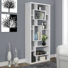 monarch specialties bookcase. Simple Monarch Monarch Specialties White Composite 11Shelf Bookcase On O