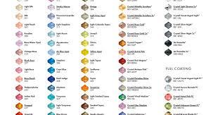 Swarovski Color Chart Ifk_beads_fw2017_18_high Pdf