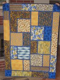 Big Block Quilt Patterns For Beginners Mesmerizing Big Block Style Quilt Free Quilt Tutorial Sewing Pinterest