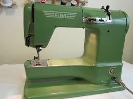 Sew Old - Sew New: Green Machine, the Elna Supermatic &  Adamdwight.com