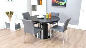 wenge extending dining table stunning gray round dining table collection and room rustic set extending images dark wood curva round wenge extending dining