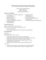 promotional resume sample promotion resume examples rome fontanacountryinn com