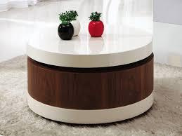 Round Coffee Table With Storage Amazing Ideas