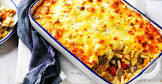 bacon and vegetable pasta bake